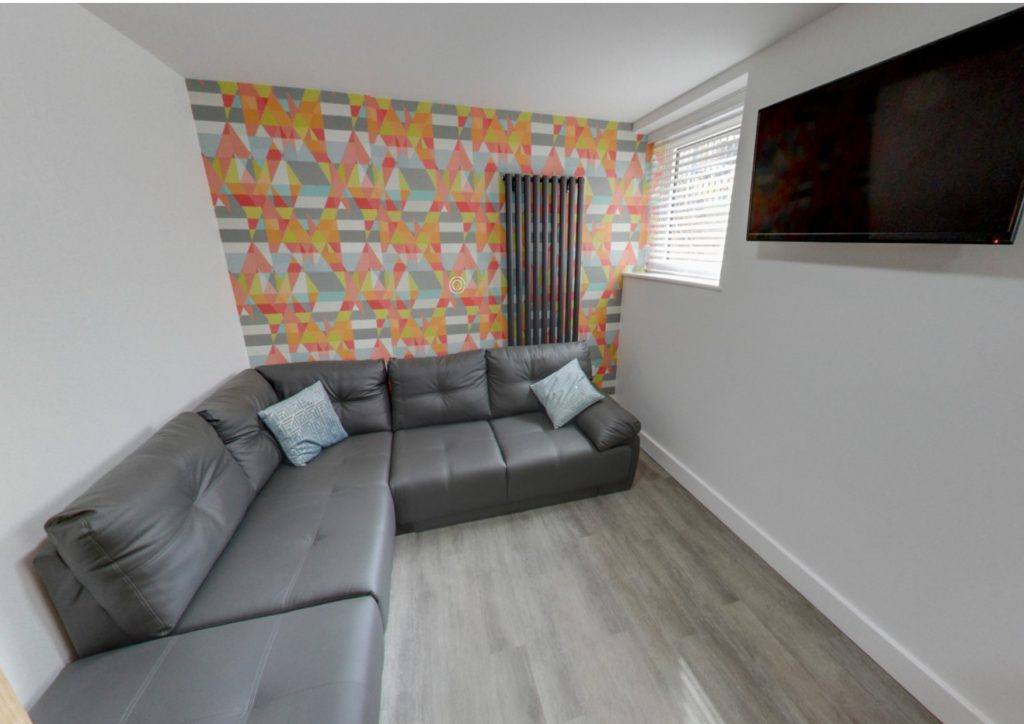 Student Living Room Nottingham