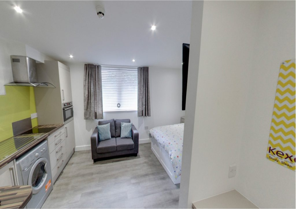 Studio Flat student accommodation Nottingham