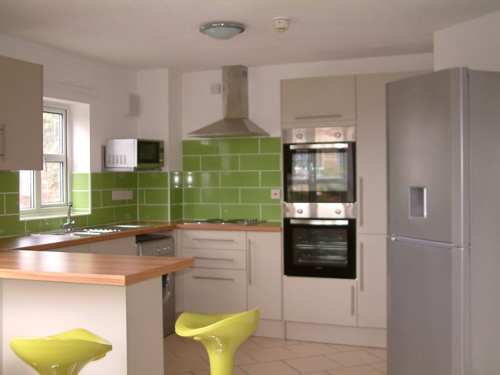 Brand New Kitchen in Nottingham for students